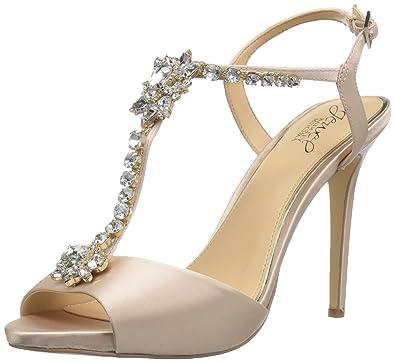 2eb51e9ebe4 Amazon.com  Badgley Mischka Jewel Women s Leeane Heeled Sandal  Shoes