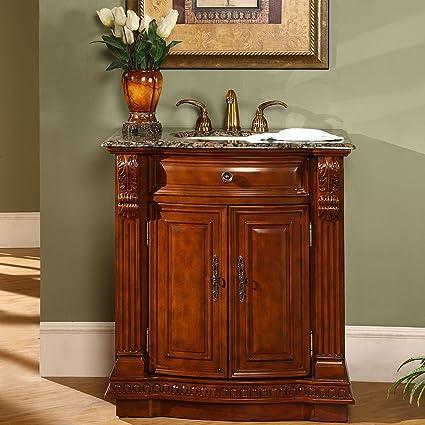 Amazoncom Silkroad Exclusive Granite Stone Top Single Sink