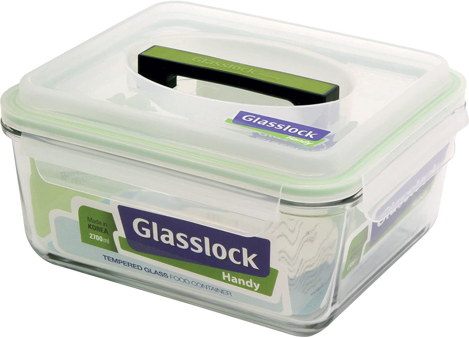 Glasslock 11350 11.4-Cup Rectangle Handy Container