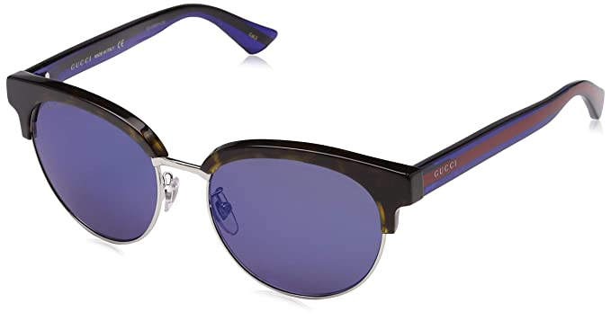 3fb73107984 Image Unavailable. Image not available for. Color  Gucci Blue Mirror  Sunglasses
