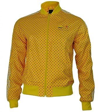 yellow adidas jacket