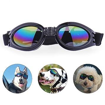 Amazon.com: SZFY - Gafas de sol para perro, impermeables ...