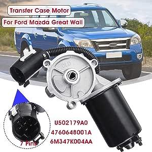 Qiilu Car Transfer Case 4760648001A Transfer Case 4x4 Shift Motor Actuator Transmission Fit for Ford Ranger 2007-2011