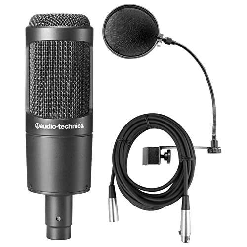 Audio-Technica AT2035 Cardioid Condenser Microphone Bundle