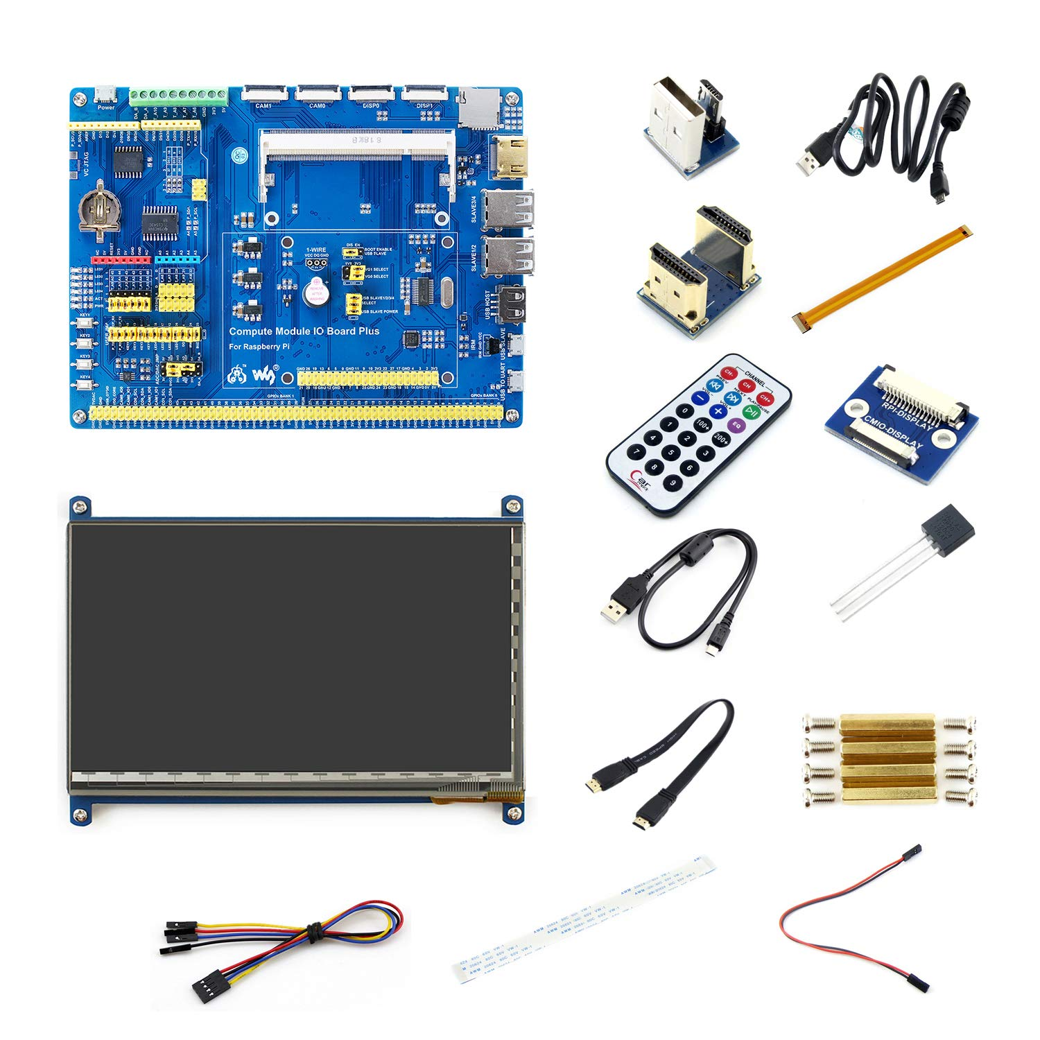 Stupendous Amazon Com Raspberry Pi Compute Module 3 Accessory Pack Evaluate Wiring 101 Swasaxxcnl