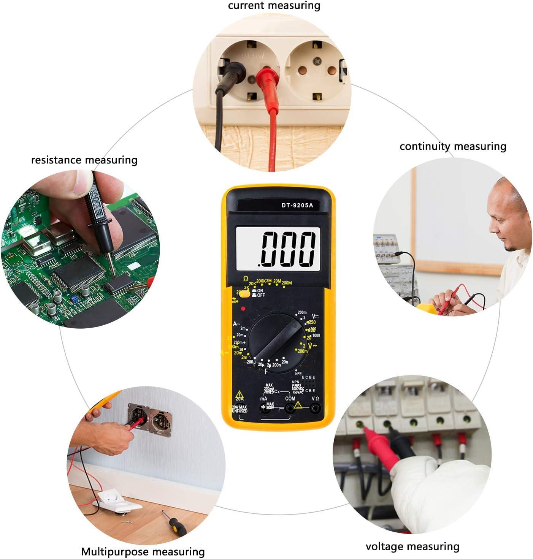 Spannungsmesser f/ür elektrische Ger/äte MULTI PS 7455 BURG-W/ÄCHTER Digital-Multimeter