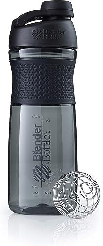 BlenderBottle SportMixer Tritan Grip Protein Shaker