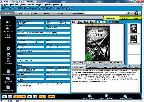 Gs Dvd Verwaltung 2 Amazonde Software