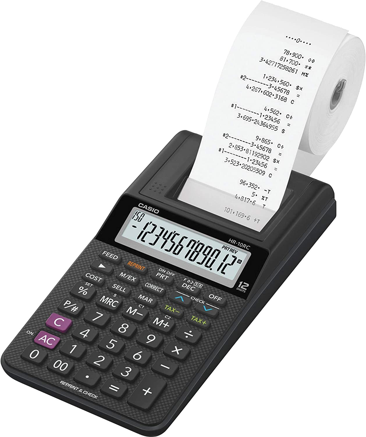 Casio HR-10RC Printing Calculator