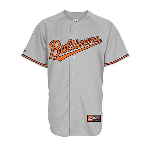 the latest e56d1 950a9 Buy MLB Men's Baltimore Orioles Nick Markakis Road Gray ...
