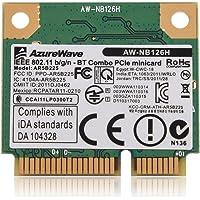 VBESTLIFE 2.4G Bluetooth WiFi 2 en 1 Carte sans Fil pour Mini Slot PCI-E pour Dell/ASUS / Toshiba/BenQ