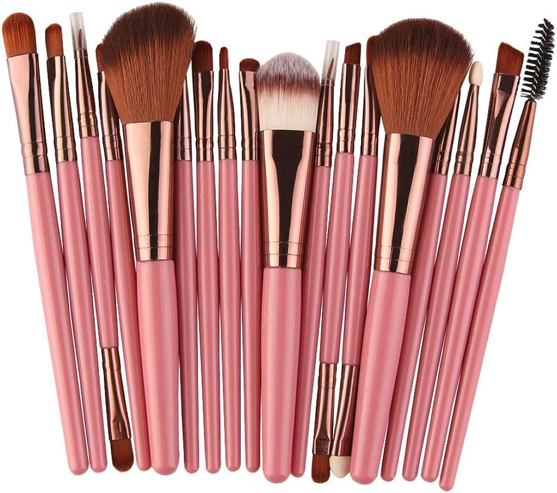 Goddessvan Makeup Brushes 18 pcs Professional Make Up Brush Set