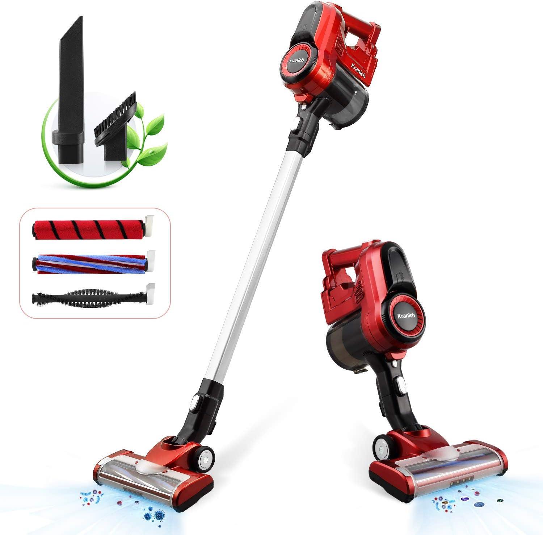 GeeMo 21Kpa Super-Suction Cordless Vacuum Cleaner Battery Bagless Handheld US
