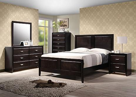 Yuan Tai Adele 5 Piece Bedroom Furniture Set, King