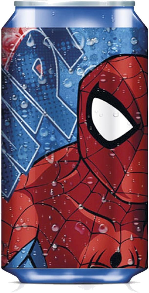Kids Euroswan Cantimplora Termo, Estampado Spiderman y Avengers, 15x10x5 cm