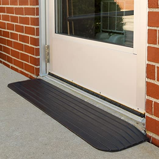 Silver Spring Solid Rubber Threshold Ramp 1 Rise Health Personal Care