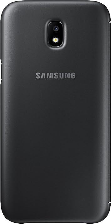 SAMSUNG Wallet Cover - Funda con Tapa Galaxy J5 2017, Color Negro ...
