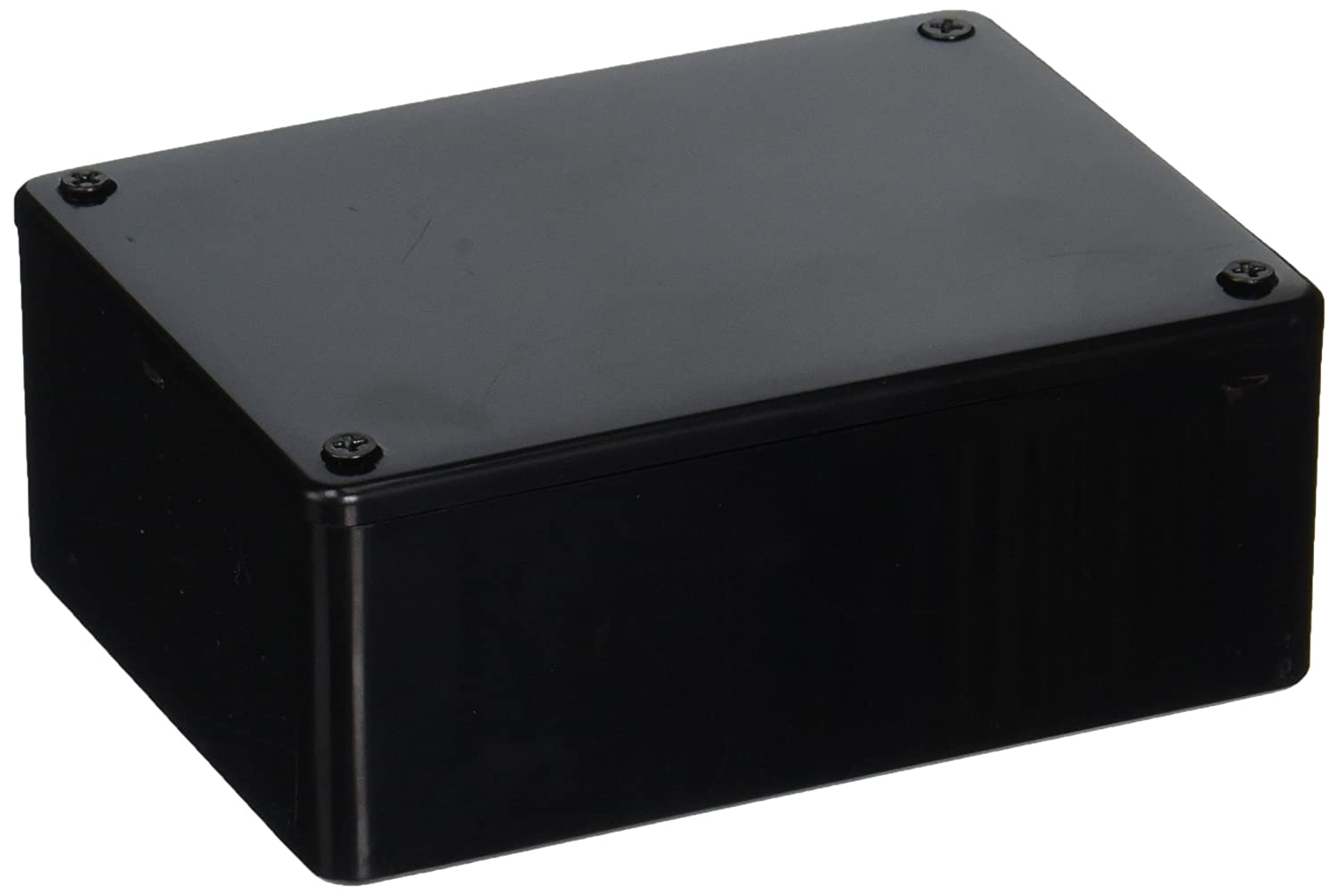 HAMMOND 1591SSBK ENCLOSURE MULTIPURPOSE ABS BLACK 1 piece