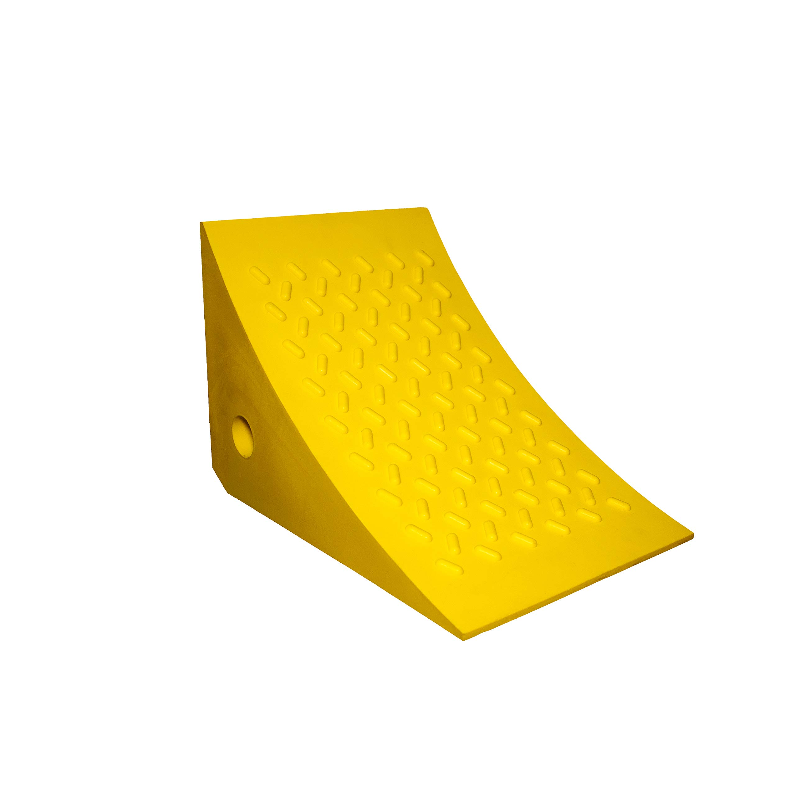 Esco 12592 Safety Yellow Pro Series Wheel Chock, Commercial Trucks and Tractors