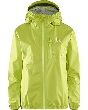 Haglofs Gram - chaqueta impermeable que brillan en la ...