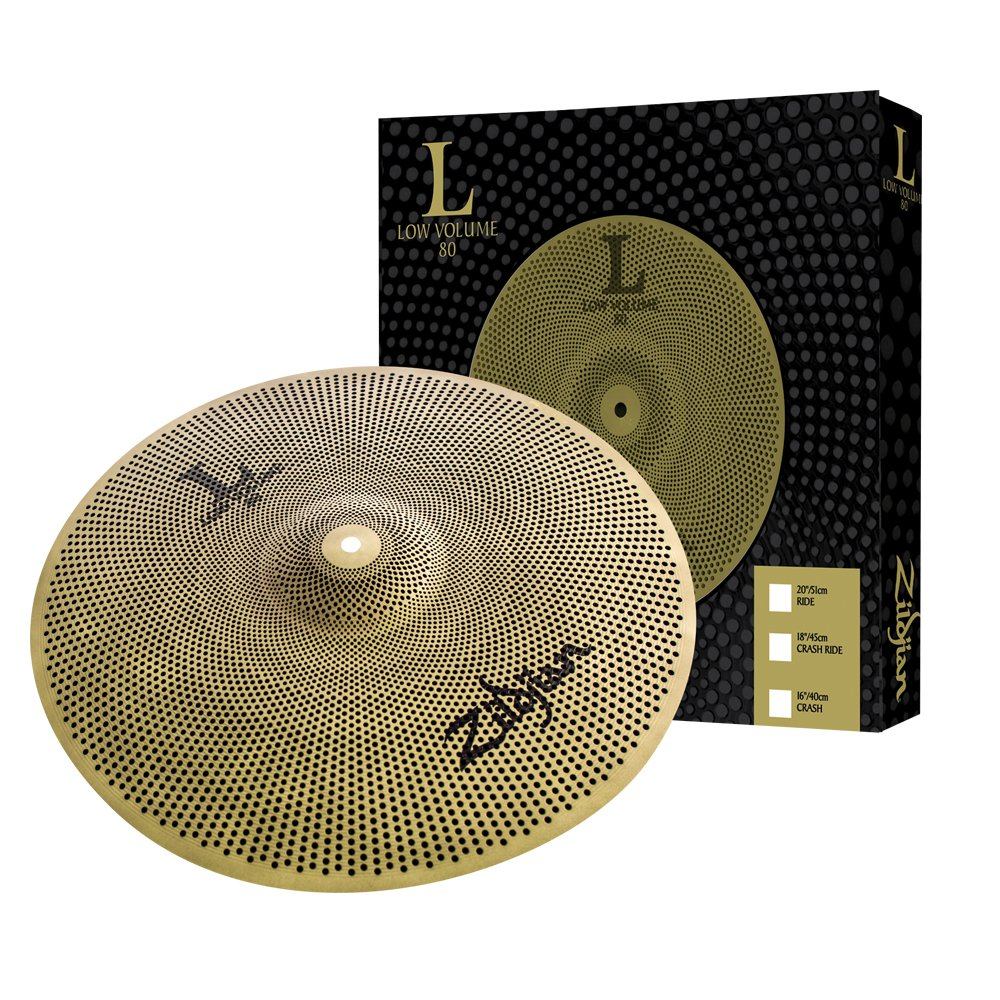 Zildjian L80 Low Volume 20'' Ride Cymbal by Avedis Zildjian Company