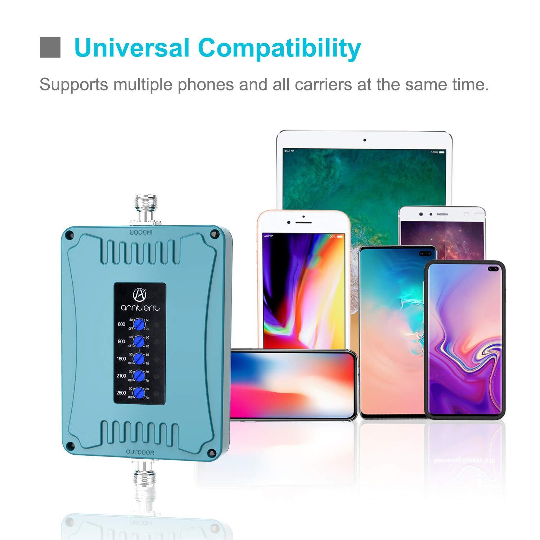 T-Mobile Signalverst/ärker 4G Verst/ärker Netzwerk Verbessern Band 20 Vodafone 800 MHz Handy LTE Verst/ärker f/ür O2