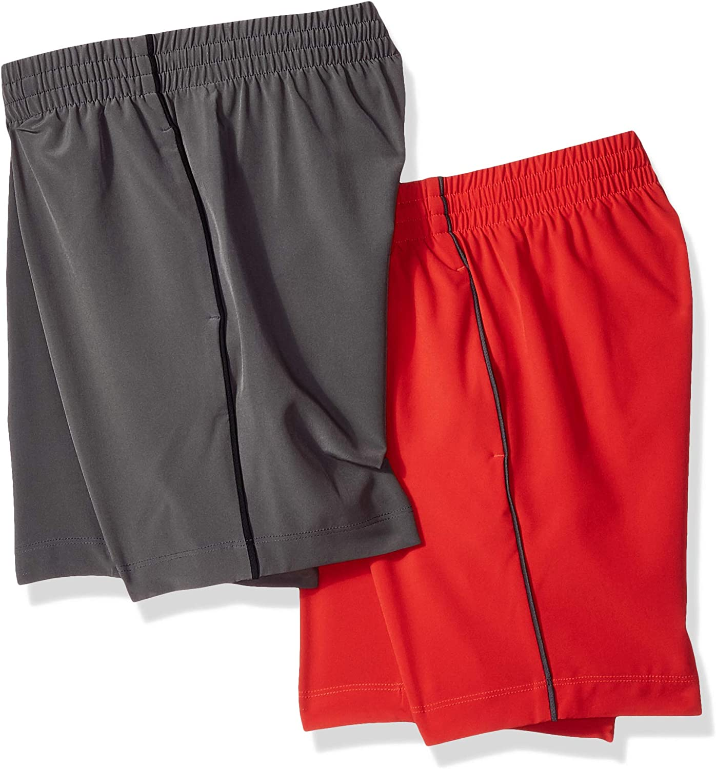 Brand Spotted Zebra Boys Toddler /& Kids 2-Pack Active Woven Shorts
