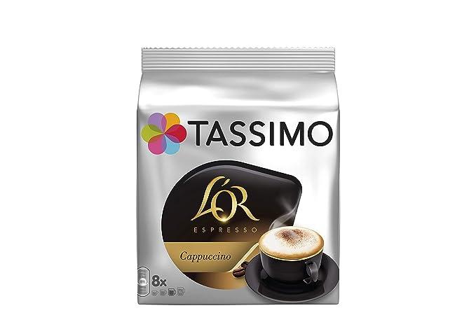TASSIMO LOr Café Capuccino - 5 paquetes de 8 unidades: Total 40 unidades