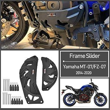 Motorcycle Frame Sliders Black Engine Crash Protector Motorcycle Frame Slider Falling Crash Protector Accessories