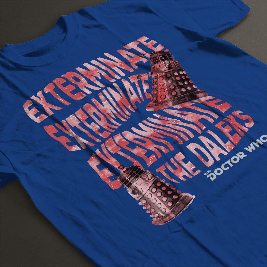 Doctor Who Warped Daleks Kids T-Shirt