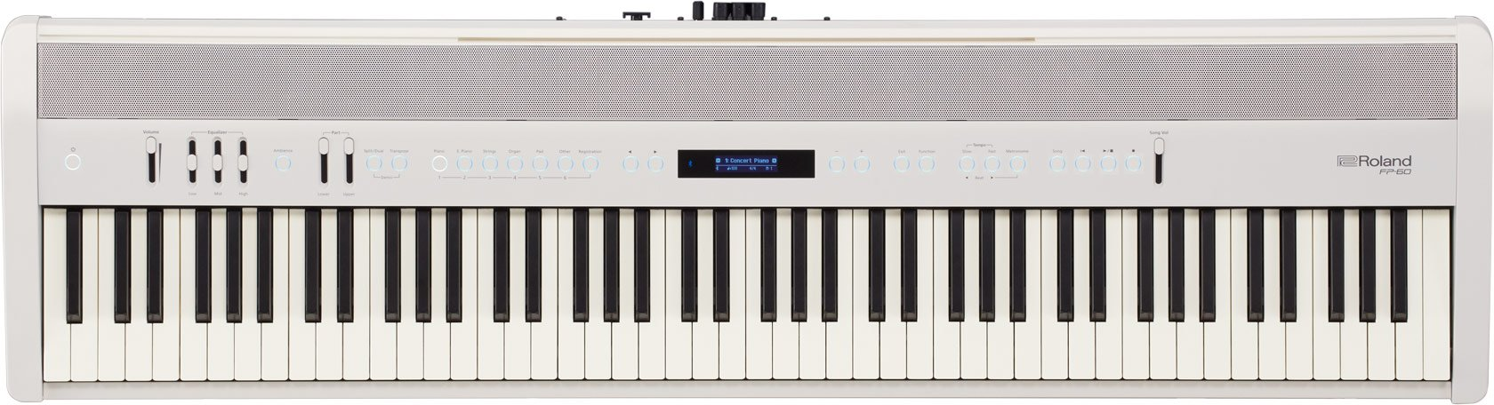 Roland, Digital Pianos-Stage, 88 keys (FP-60-WH), FP-60 by Roland