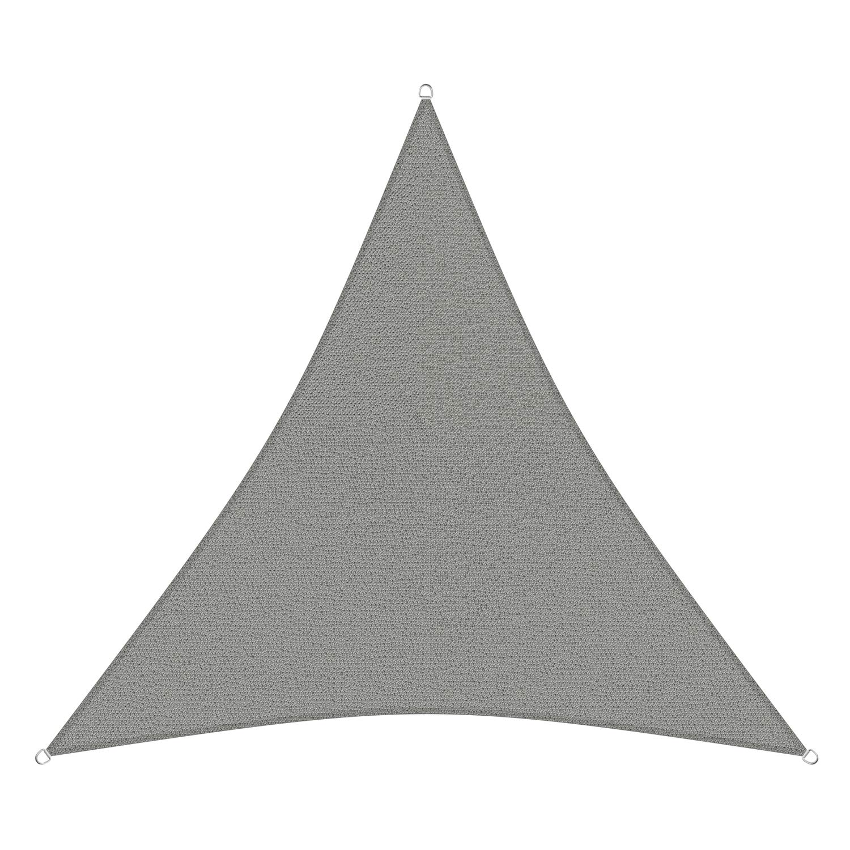 sunprotect 83241 Professional Toldo / Vela de Sombra, 3.6 x 3.6 m, Triángulo,
