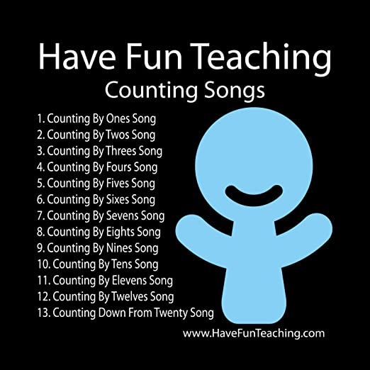 Amazon.com : Counting Package: Counting Songs CD, Counting ...