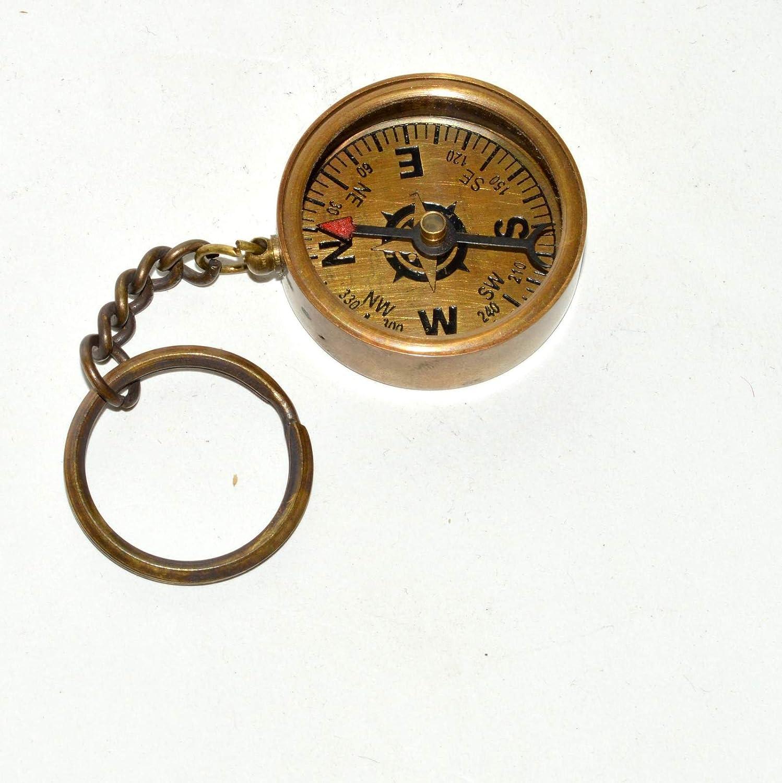 Hello Nauticals Store真鍮compass-antique Nautical真鍮compass-pendant Miniギフトコンパス。。。。ohxw233 B07D6KLSG2