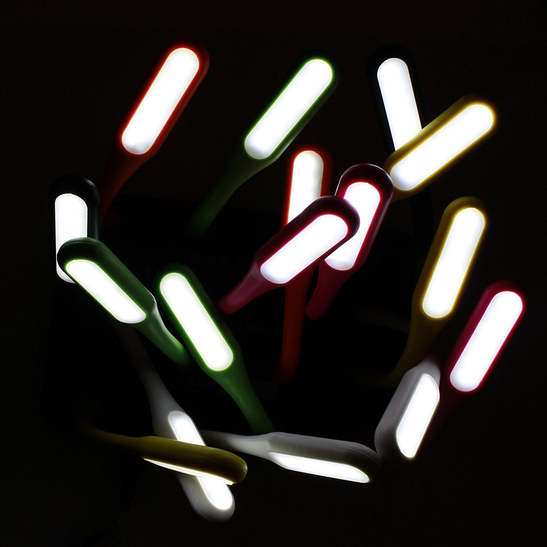 ViiNA UL Flexible USB LED Light Lamp Portable Night Light Reading Lamp