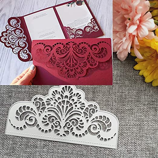 lace Design Metal Cutting Dies For DIY Scrapbooking Card Paper Album B UK