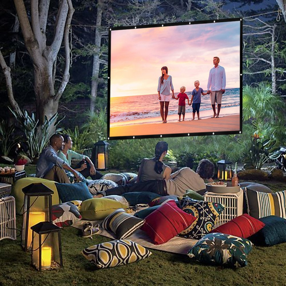 Movie screen buying guide- choose the perfect one for your own backyard cinema - todaywedate.com
