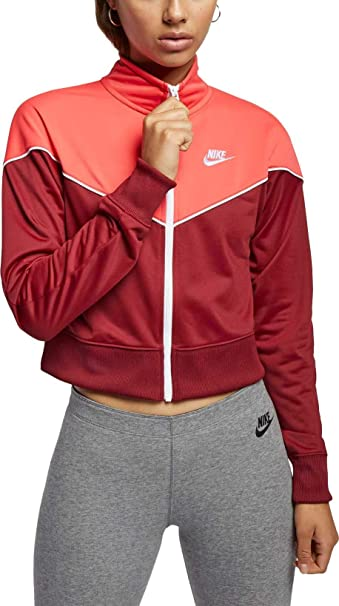Nike Womens Heritage Track Jacket at Amazon Womens ...