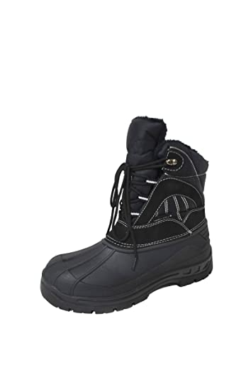 Men's Waterproof Lace-up Comfort Cold Winter Snow Boots (Y05)