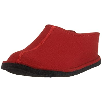 Haflinger Flair Smily, Chaussons Mules Homme, Rouge (Rubin 11), 47 EU