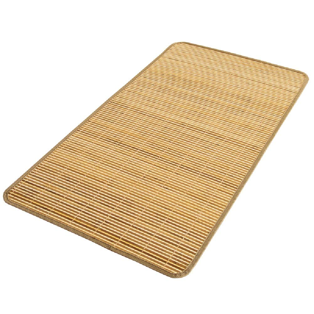 Color : Natural, Size : 50x90cm YJFENG Mattress Topper Summer Sleeping Mats Mattress Protector Baby Cot Baby Cart Summer Breathable Easy to Clean Corrosion Resistant,26 Sizes