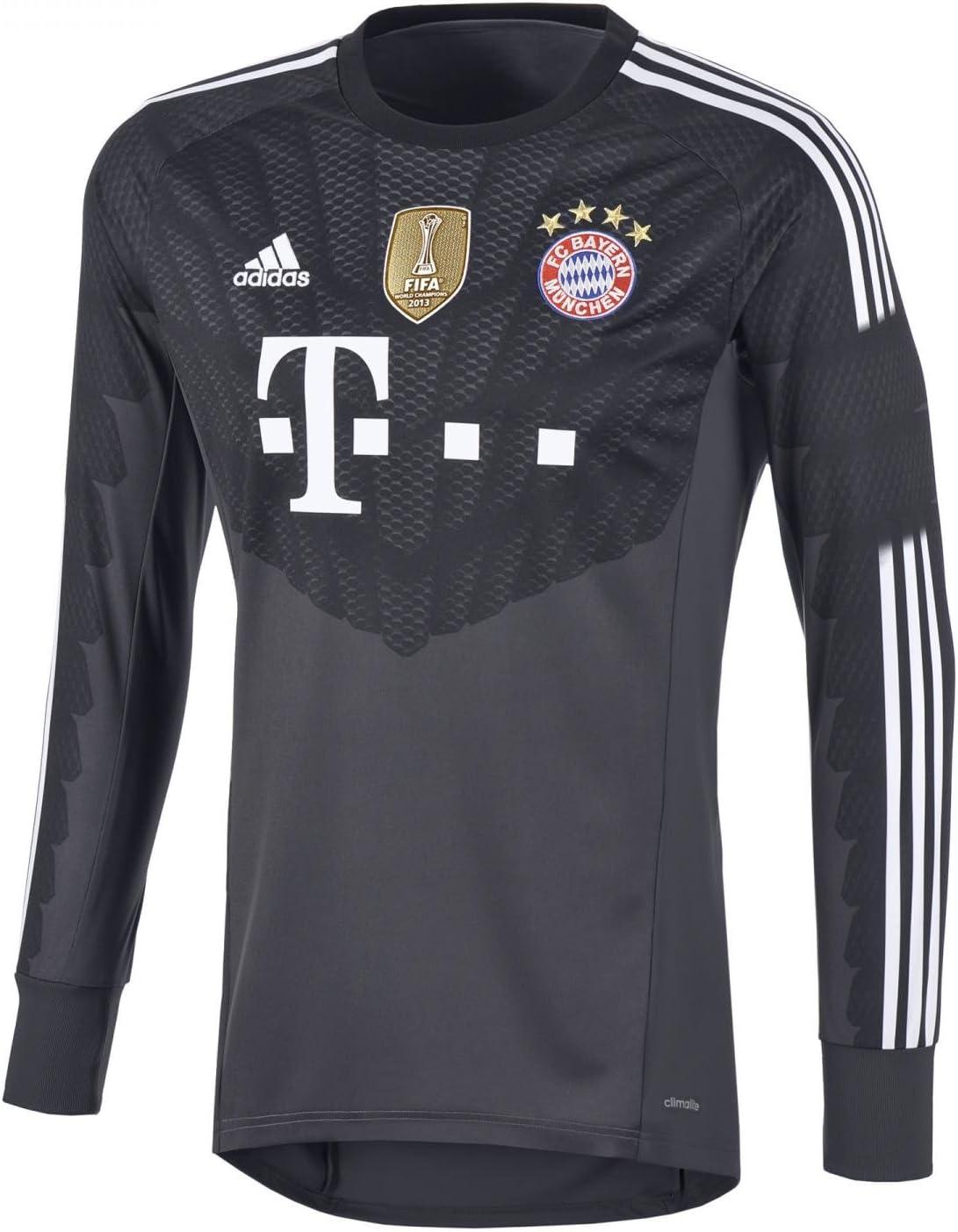 Camiseta de portero fútbol niños FC Bayern Múnich portero sábana WC, todo el año, unisex, color - gris, tamaño 15 años (164 cm): Amazon.es: Deportes y aire libre