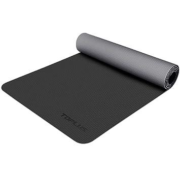 Amazon.com: TOPLUS - Esterilla de yoga, respetuosa con el ...