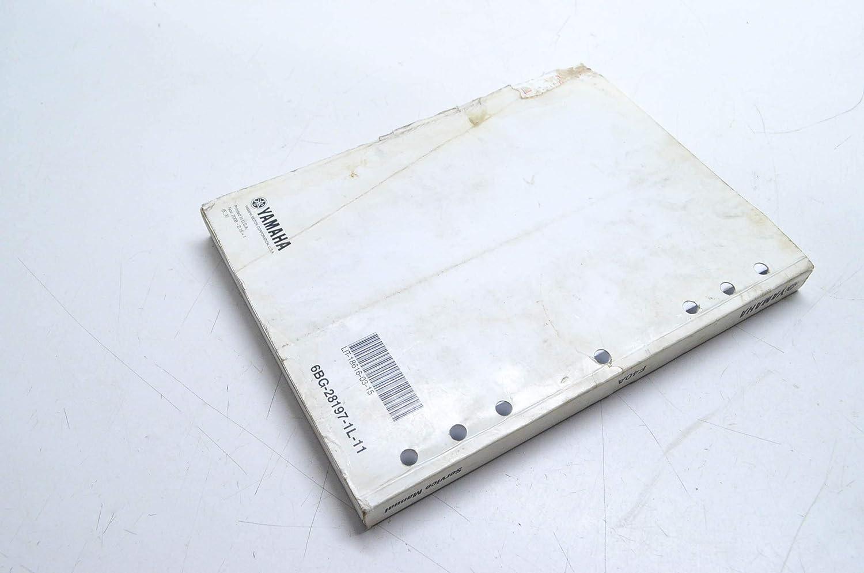 Amazon com: Yamaha LIT-18616-03-15 F40A Service Manual