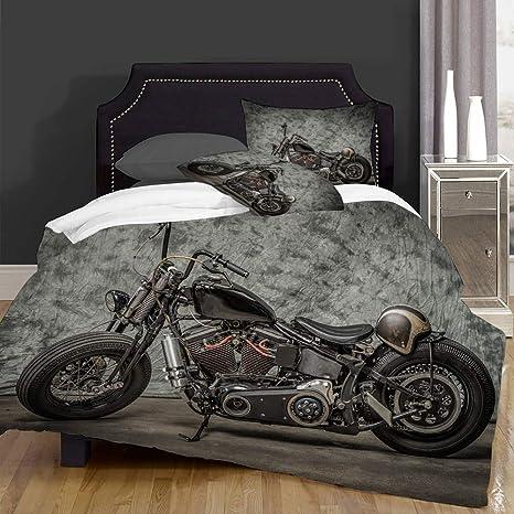 Duvet Cover Set Harley Check Quilt Bedding Single Double King Super King Size