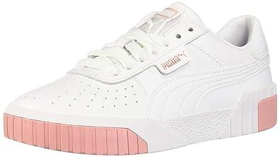 grande vente 66a5f 0cd4e PUMA Women's CALI Sneaker, White-Rose Gold, 7.5 M US
