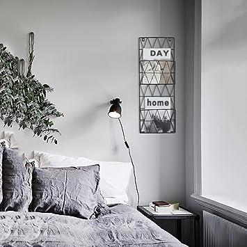 Einfache Grid Eisen Zeitungshalter Für Die Wand, Nordeuropa Wohnzimmer Wand  Zeitungsständer Modern Bücherregal Toilette Magazin