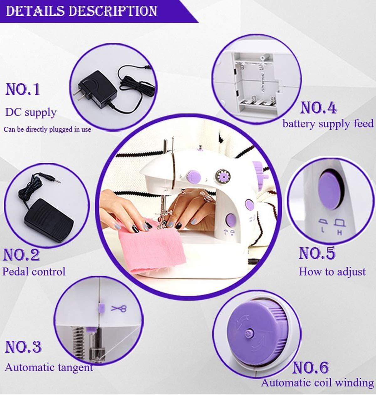 Arts, Crafts & Sewing Sewing Machines ghdonat.com Portable ...