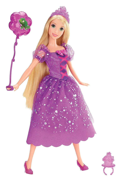 Disney Princesas Muñeca, princesas fiesta de cumpleaños: Rapunzel ...