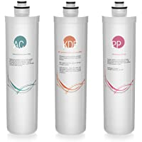 iSpring F3-CUA4 6-Month Filter Pack for 4-Stage 0.1 Micron Ultra-Filtration Water Filter Systems